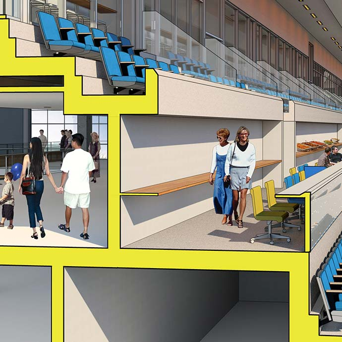 Loge Box Rendering